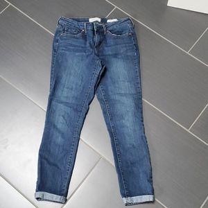 Jessica Simpson cuffed jean